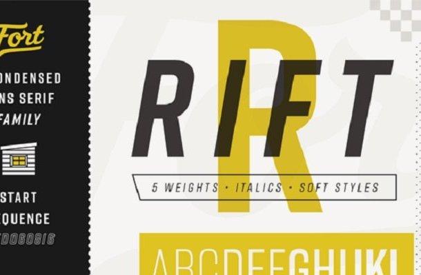 Rift Font Family Free