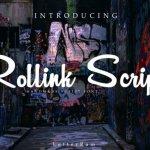 Rollink Script Font Free