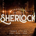 Sherlock Typeface Free