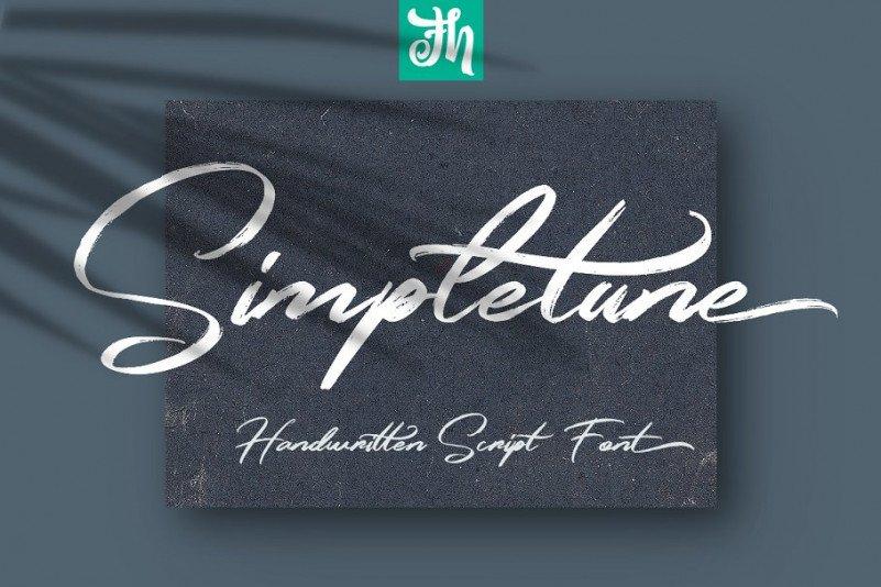 simpletune-handwritten-font