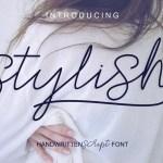 Stylish Script Font Free