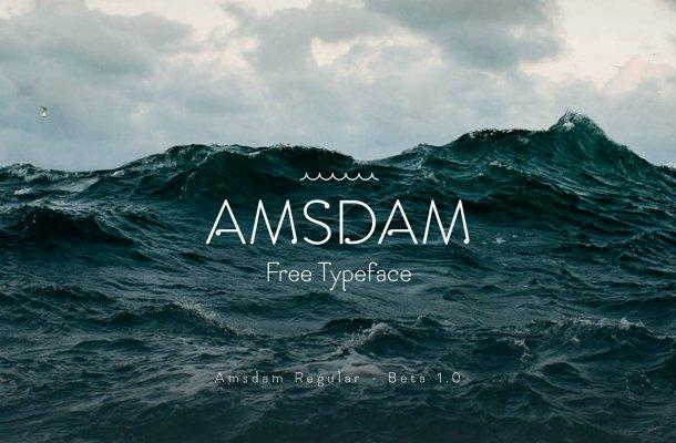 Amsdam Font Free
