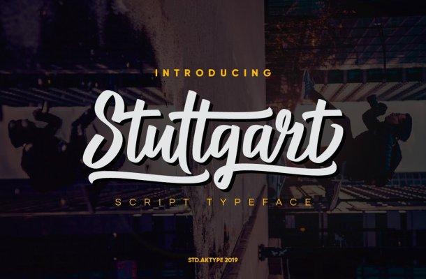 Stuttgart Script Font Free