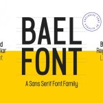 Bael Font Family Free