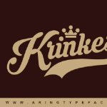 Krinkes font Free