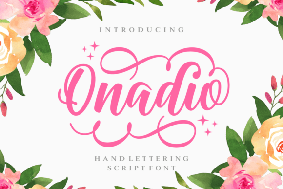 Onadio Script Font Free