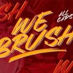 Webrush Brush Font Free