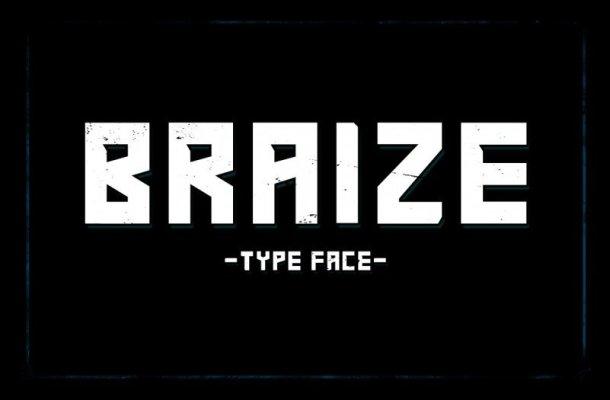 Braize Typeface Free