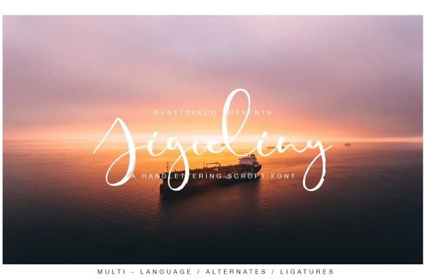 Jiguliny Script Font Free