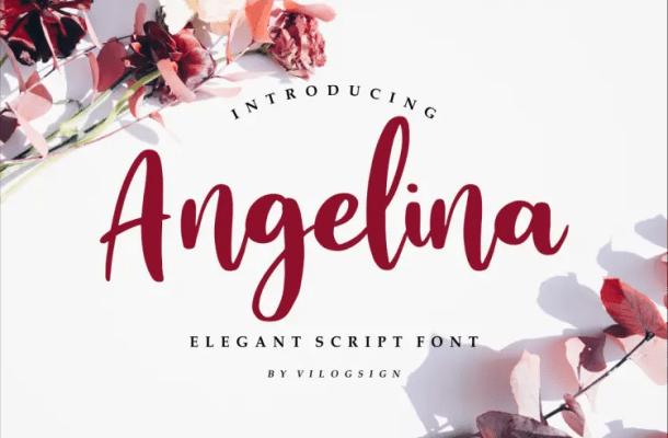 Angelina Playful Script Font
