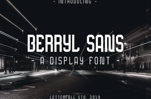 Berryl Sans Serif Font Free