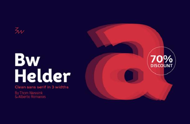 Bw Helder Font Family Free