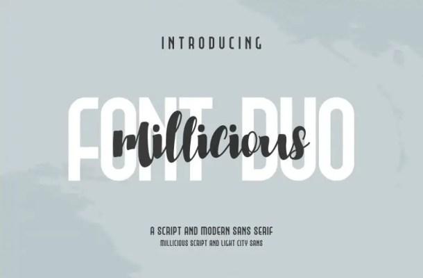 Millicious Brush Font Free