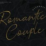 Romantic Couple Handwritten Font