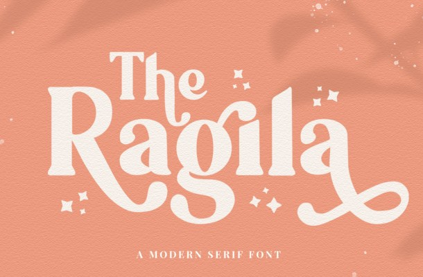 Ragila Serif Font