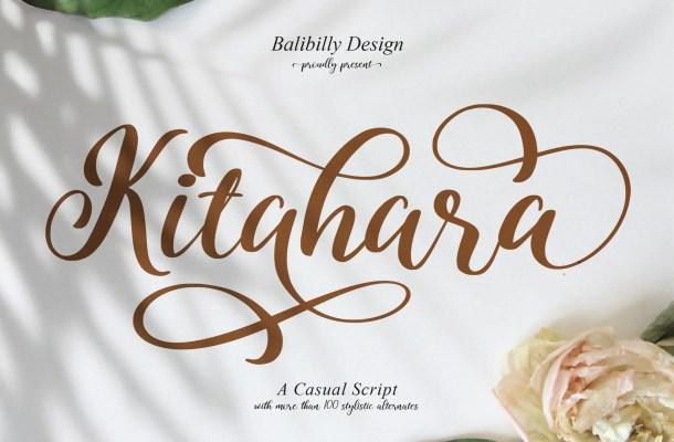 Kitahara Script Font