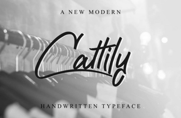 Cattily Calligraphy Font Free