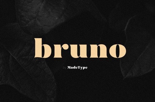 MADE Bruno Serif Font