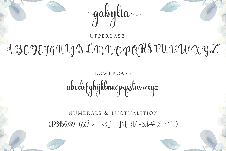 Gabylia Script Font