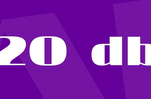 20 db Font