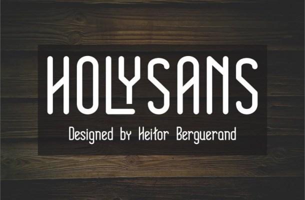 Holy Sans Serif Font Family