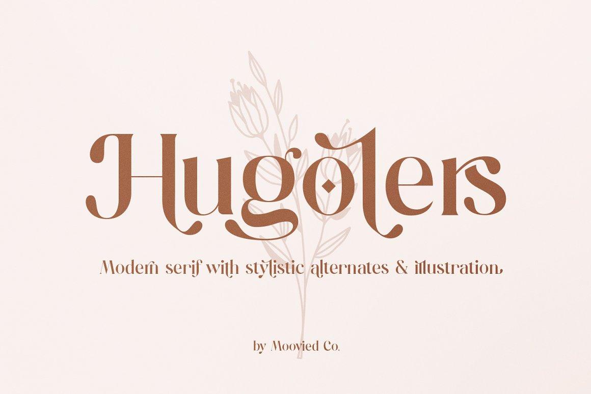 Hugolers Stylish Serif Font-1