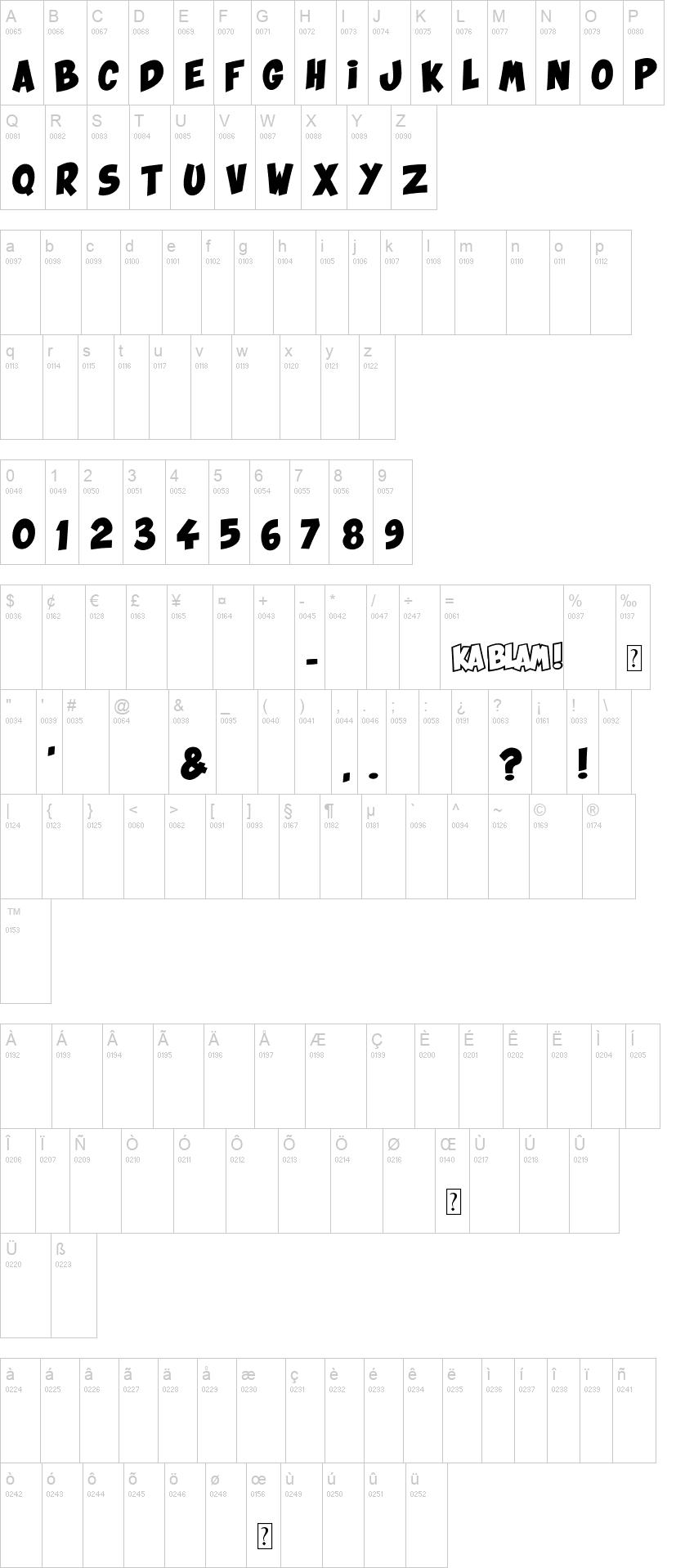 Ka Blam Fancy Font-2