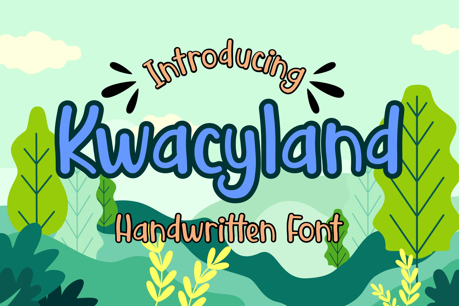Kwacyland Font by Dreamink (7NTypes)_1