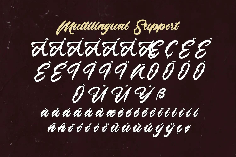 Lazyday Script Font-3