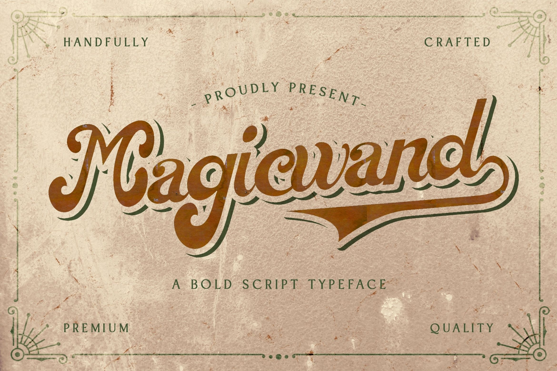 Magic Wand Bold Script Font-1