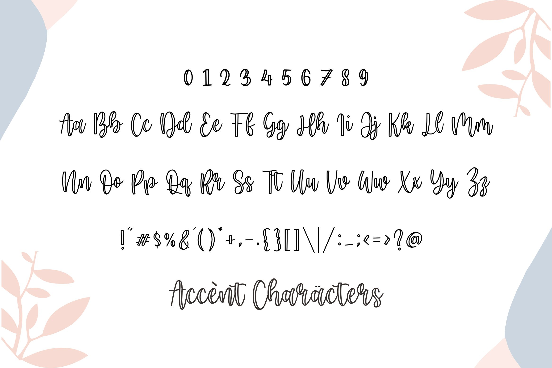 Minoline Cute Handwritten Font-3