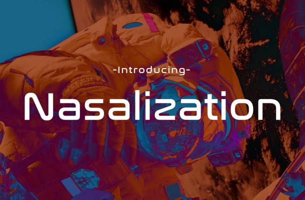 Nasalization Display Font