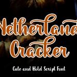 Netherland Cracker Script Font