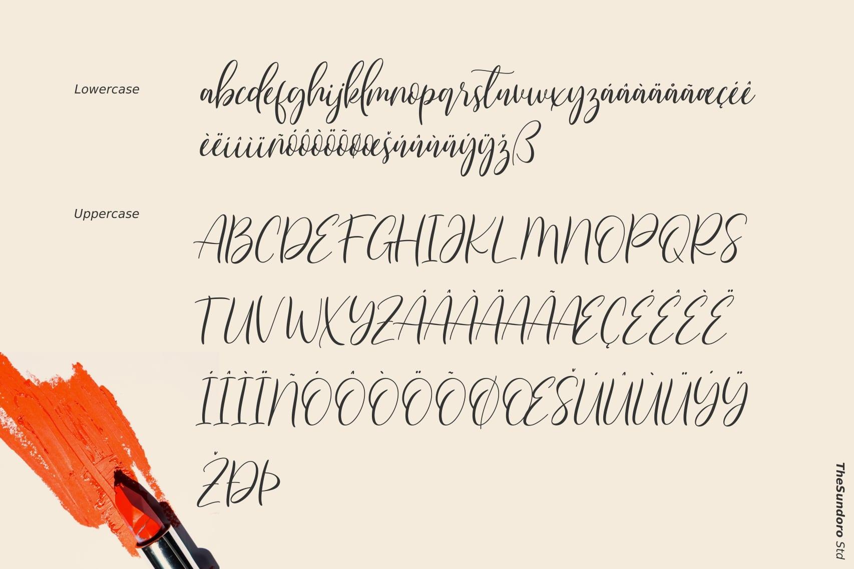 Qristalla Script Calligraphy Font-3