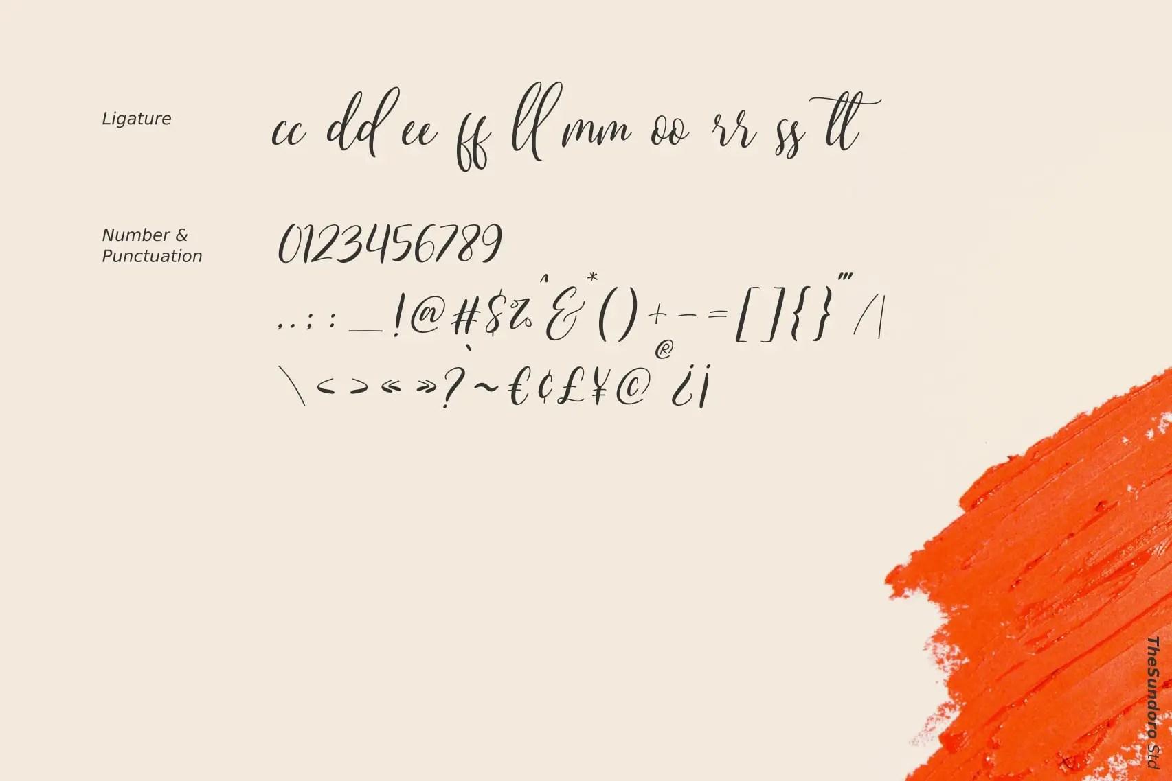 Qristalla Script Calligraphy Font-4