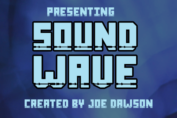 Sound Wave Font Family