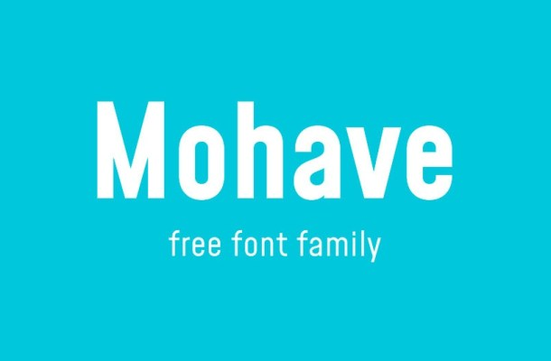 Mohave Font Family