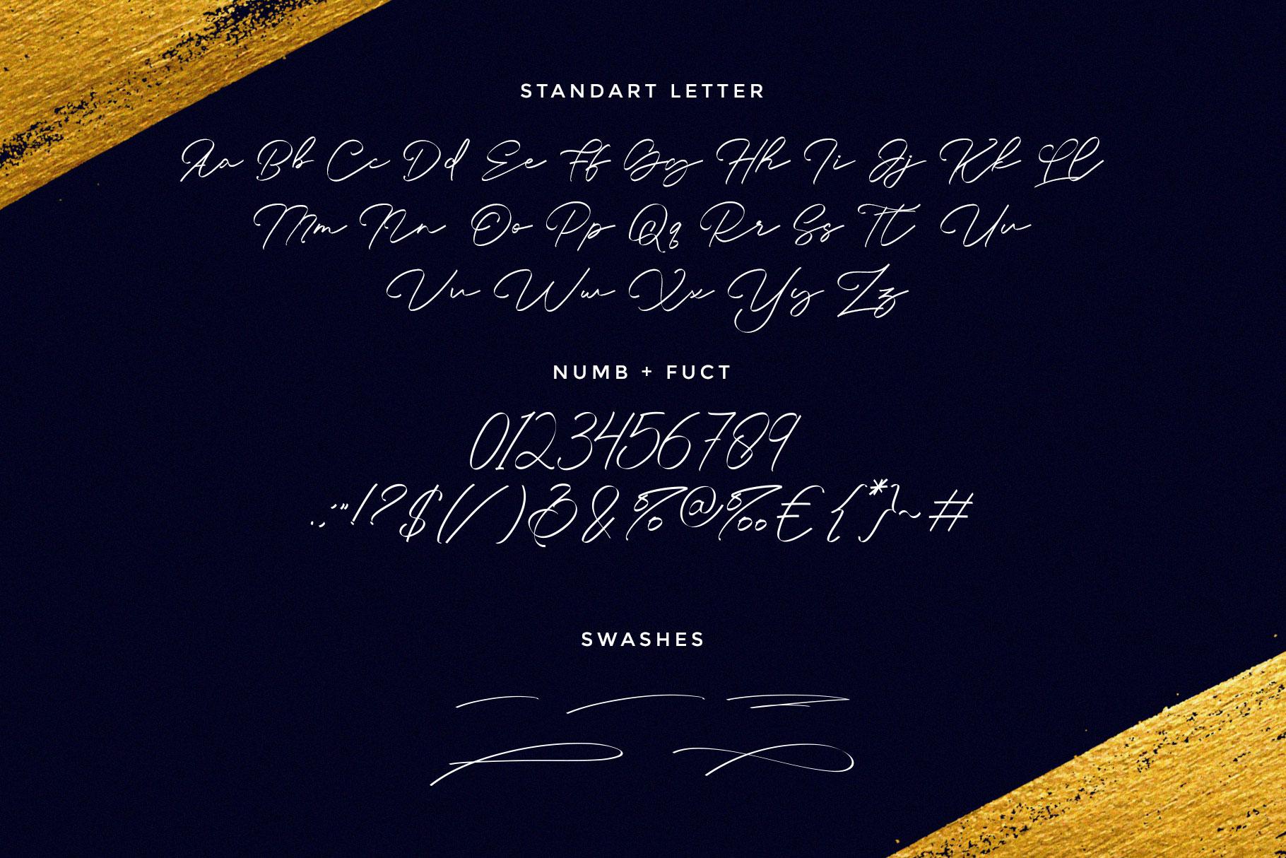 Young Rich Handwritten Font-3