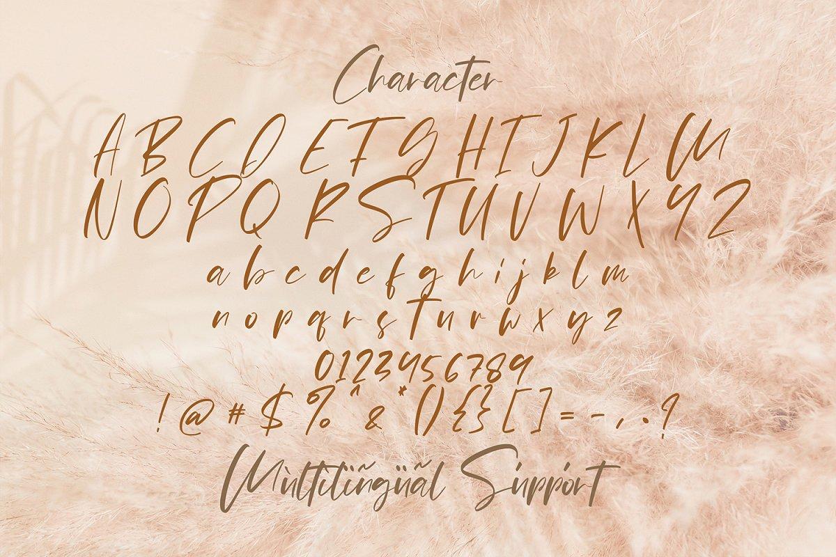 Pejuang Cinta Handwritten Font