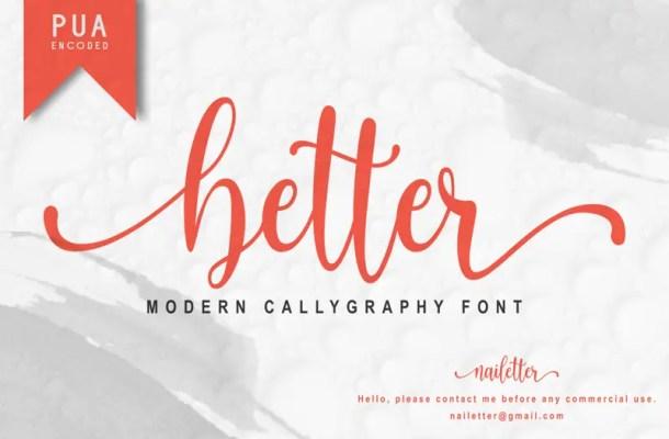 Better Font