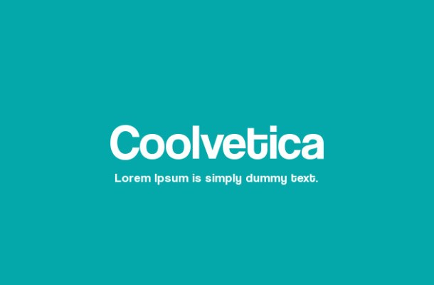 Coolvetica Family Font