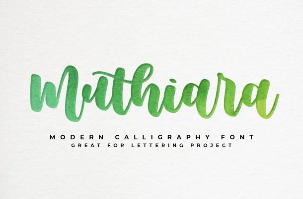 Muthiara Font