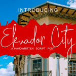 Ekuador City Handwritten Font