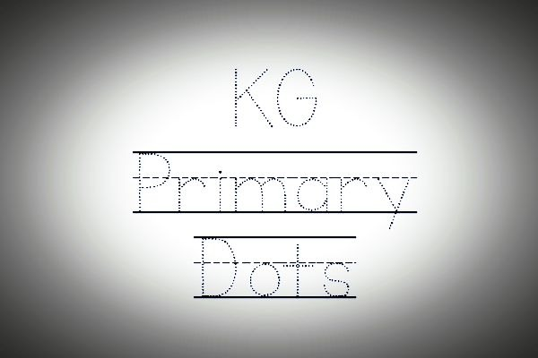 KG Primary Dots Font Family