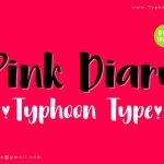 Pink Diary Handwritten Font