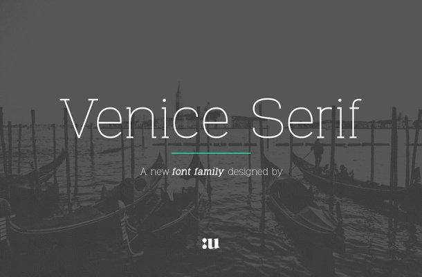 Venice Serif Font Family
