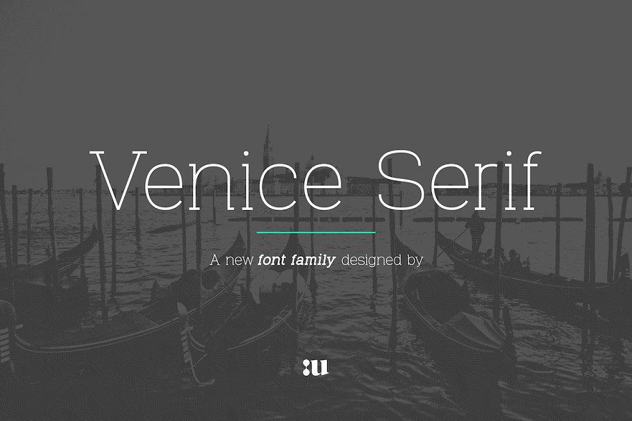 Venice Serif Font Family1-
