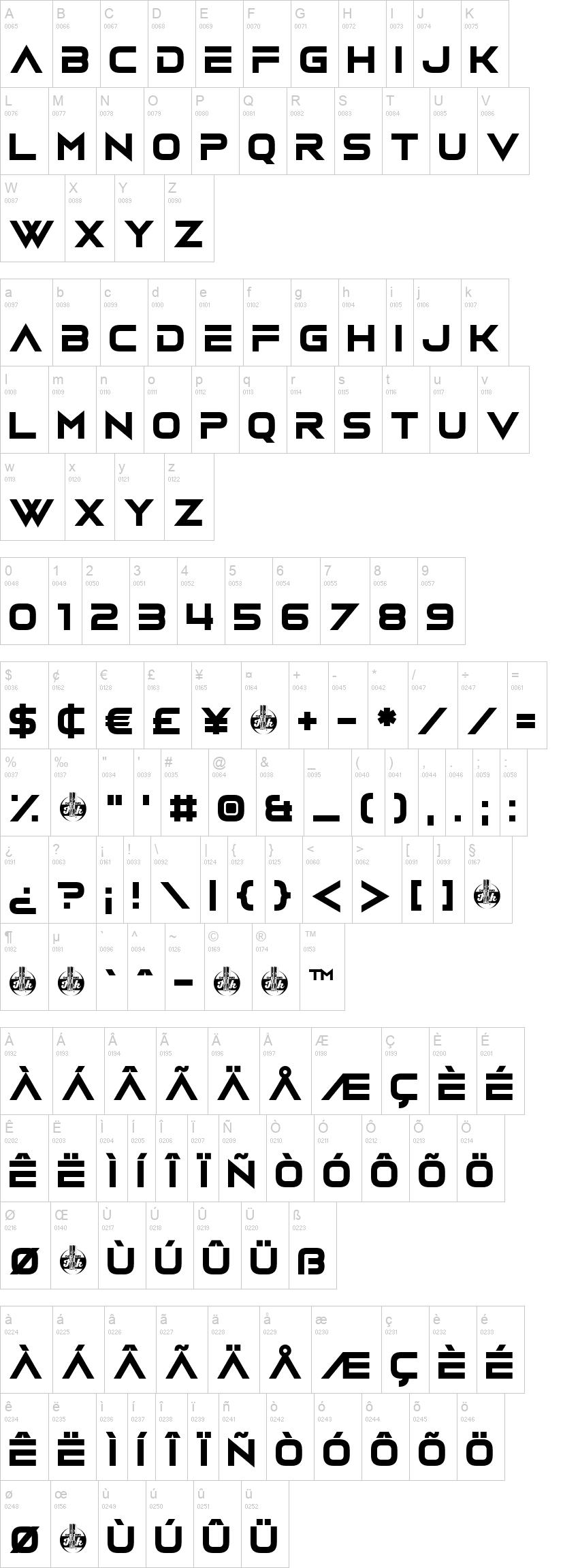 Vudotronic Font