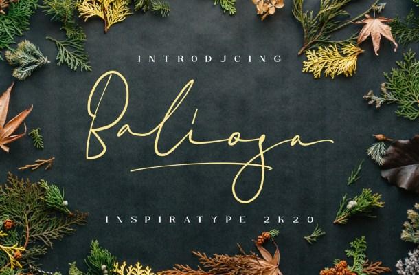 Baliosa Font