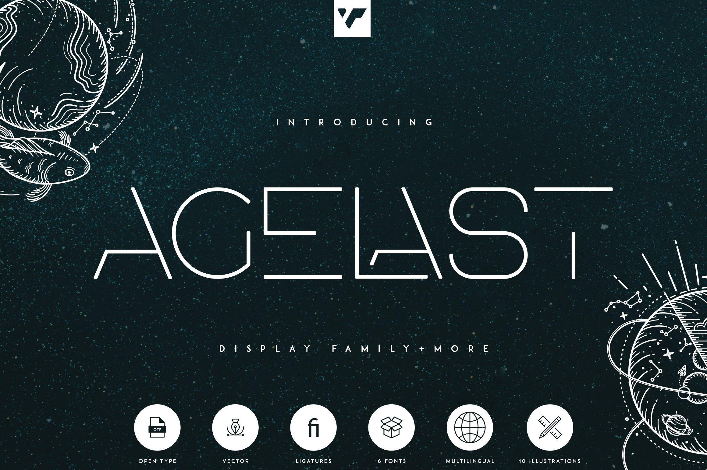 Agelast Display Font-1